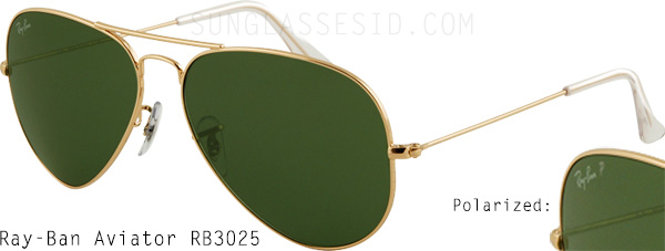 Ray-Ban 3025 compare difference
