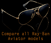 Compare all Ray-Ban Aviator sunglasses
