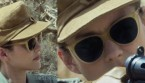 Marion Cotillard wearing L.G.R. Alexandria sunglasses in the movie Allied.