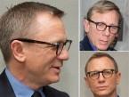 Daniel Craig wearing Lunor A6 246 hvd. 02 eyeglasses