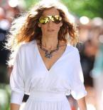 Sarah Jessica Parker wearing Mykita & Bernhard Willhelm Franz in Sex and the City