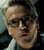 Jeremy Irons wears Old Focals J.D. eyeglasses in Batman v Superman: Dawn of Justice.