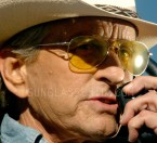 Michael Douglas wears Oliver Peoples Benedict sunglasses in Beyond The Reach.