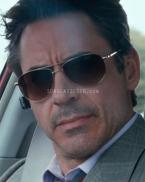 Robert Downey Jr. wearing Oliver Peoples Benedict sunglasses in the movie Due Da