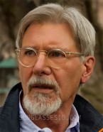 Harrison Ford wears Oliver Peoples Gregory Peck eyeglasses in The Age Of Adeline
