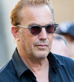 Kevin Costner with Oliver Peoples Sheldrake sunglasses