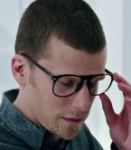 Jesse Eisenberg wears Persol PO9649V eyeglasses in the 2016 film Now You See Me 2.