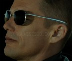 Ethan Hawke wears a pair of RE (Randolph Engineering) Aviator sunglasses in the movie Good Kill.