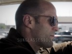 Jason Statham wearing Randolph Engineering Aviator sunglasses in Wild Card