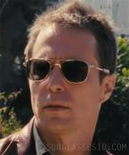 Sam Rockwell wears Randolph Engineering Aviator sunglasses in Seven Psychopaths