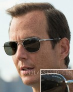 Will Arnett wears Randolph Engineering RE Aviator sunglasses in Teenage Mutant Ninja Turtles.