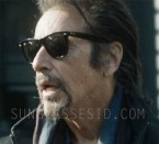 Actor Al Pacino wears Ray-Ban RB 2140 Wayfarer sunglasses in The Humbling