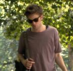 Robert Pattinson wearing Ray-Ban 2140 Wayfarer sunglasses in Remember Me