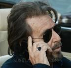 Al Pacino wears Ray-Ban 3025 Aviator sunglasses in The Humbling