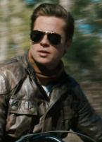 Brad Pitt wearing Ray-Ban 3030 Outdoorsman sunglasses in The Curious Case of Ben