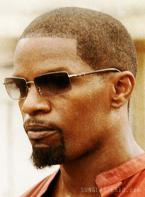 Jamie Foxx wearing Robert Marc 710 sunglasses in the Miami Vice movie