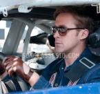 In Drive, Ryan Gosling as the unnamed driver, wears Selima Optique Money 2 sunglasses