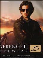Patrick Dempsey wearing Serengeti Napoli