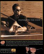 Val Kilmer wearing Serengeti Napoli in an advertisement for Serengeti