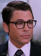 75d0d25ddf Rob Lowe wearing Shuron Freeway eyeglasses in the movie The Invention of  Lying