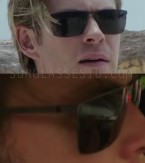 Unidentified pair of sunglasses worn by Chris Hemsworth in Blackhat