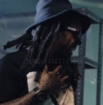 Lil Wayne wears Thrasher Skate and Destroy sunglasses in the Nicki Minaj music video Only.