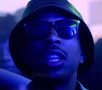 Ludacris wears Tom Ford Leo FT0336 sunglasses in his music video Grass Is Always Greener.