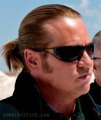Val Kilmer wears a pair of Versace 2040 sunglasses in the movie MacGruber.