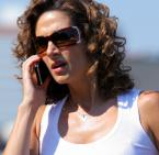 Melina Kanakaredes (Stella Bonasera) wearing Vogue 2406 sunglasses in CSI: New York