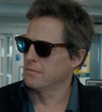 Hugh Grant wears a Wayfarer style pair of sunglasses in The Rewrite