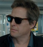 Hugh Grant wears a Wayfarer style pair of sunglasses in The Rewrite