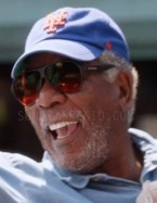 Morgan Freeman wears BluBlocker sunglasses in Going In Style.