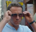 Ryan Reynolds wears Dita Nacht-Two sunglasses in Free Guy.