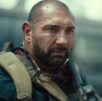 Dave Bautista wears wayfarer style eyeglasses in the 2021 Netflix film Army Of The Dead.