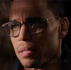 Michael Ealy wears a unidentified pair of eyeglasses in The Intruder