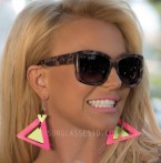 Britney Spears wears IVI Beverly sunglasses in the music video Pretty Girls.