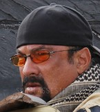 Steven Seagal wears Oakley Whisker sunglasses in the 2016 action film Code of Honor.