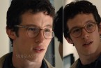 Callum Turner wears Paul Smith Theydon PM8245U eyeglasses in the movie The Only Living Boy In New York.