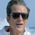 Matthew Modine wears a pair of Persol 649 sunglasses in the film Speed Kills.