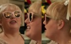 Rebel Wilson wears Pink mirror cat-eye sunglasses in the movie The Hustle.