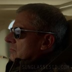 Steve Carell wears Randolph Engineering Aviator sunglasses in the Netflix series Space Force, season one, episode one..