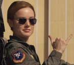Brie Larson wears Randolph Engineering Aviator sunglasses in the movie Captain Marvel.
