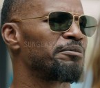 Jamie Foxx wears Randolph Intruder sunglasses in Sleepless.