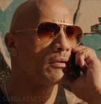 Dwayne Johnson wears Ray-Ban 3029 Outdoorsman II aviator sunglasses in Fast & Furious Presents: Hobbs & Shaw
