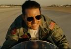 Actor Tom Cruise wearing Ray-Ban 3025 Aviator sunglasses in Top Gun: Maverick.