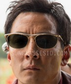 7313e765e662 Daniel Wu wears vintage Ray-Ban Olympian sunglasses in the tv series Into  The Badlands