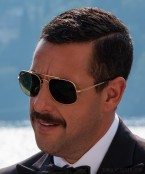 Adam Sandler wear Ray-Ban RB3561 General sunglasses in the 2019 Netflix film Murder Mystery.