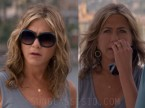 Jennifer Aniston wears Ray-Ban RB4098 Jackie Ohh II sunglasses in Murder Mystery.