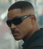 Will Smith wears matte black Wiley X Omega sunglasses in the 2017 Netflix film Bright.