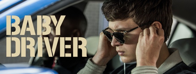 Persol sunglasses in Baby Driver